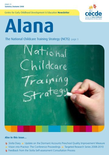 Issue 21 - Centre for Early Childhood Development & Education