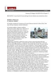 Domenica 09 Maggio 2010 PROVINCIA Pagina 37 BRENZONE. È ...