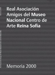 Memoria 2000 - Gestión Amigos Reina Sofia - BackOffice - Real ...