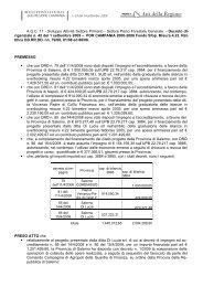 Atti della Regione - Programmazione Unitaria Regione Campania