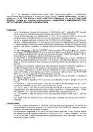 POR FESR 2007-2013 ASSE I OBIETTIVO OPERATIVO 1.10