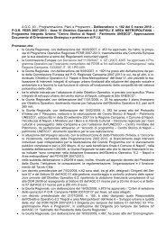 POR FESR 2007-2013 - Programmazione Unitaria Regione ...