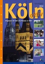 Angebote der DJH City-Hostels in Köln - DJH Rheinland