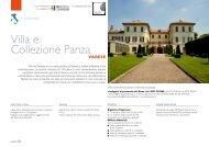FAI Lombardia - Villa e Collezione Panza - Didatour