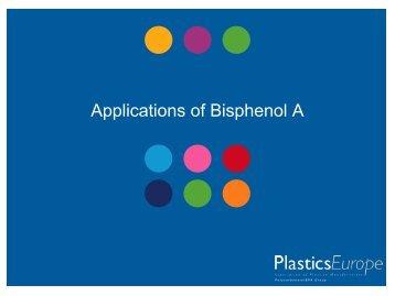 BPA applications