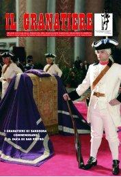 n . 1 - gennaio - marzo 2010 - Associazione Nazionale Granatieri di ...