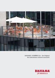 Bahama® »JumBrella« – das Original. Seit ... - SunLiner GmbH