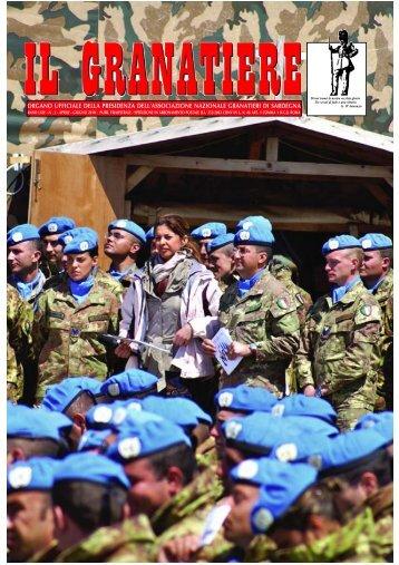 n . 2 - aprile - giugno 2010 - Associazione Nazionale Granatieri di ...