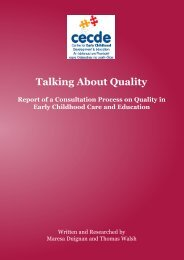 Talking About Quality - Centre for Early Childhood Development ...