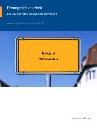 Bertelsmann Bevölkerungsstudie - Home - Dorfentwicklung Kaichen