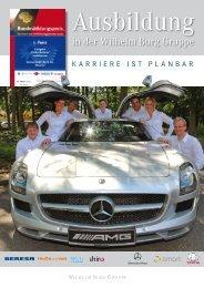 Magazin zur Ausbildung herunterladen (.pdf, ca. 8 MB