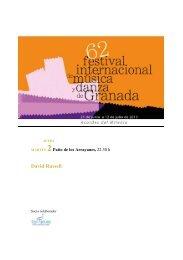 David Russell - Festival Internacional de Música y Danza de Granada