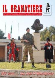 n .1 - gennaio-marzo 2009 - Associazione Nazionale Granatieri di ...