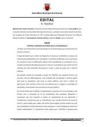 Edital A.M. n.º 20/2012 - Câmara Municipal de Estremoz