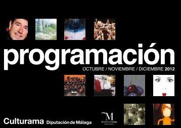 Programación Culturama Octubre-Diciembre 2012 - Diputación de ...