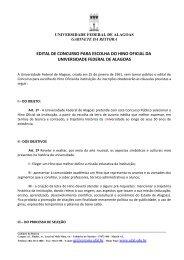 Edital para Escolha do Hino da Ufal - Universidade Federal de ...