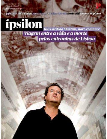 Viagem entre a vida ea morte pelas entranhas de Lisboa - Fonoteca ...