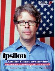 Jonathan Franzen em entrevista - Fonoteca Municipal de Lisboa