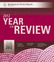 English - Brethren in Christ Church