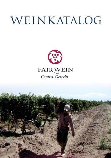 Weinkatalog von Fair Wein