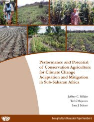 ecoagriculture discussion paper series
