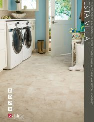 Sales Sheet - Products - Daltile
