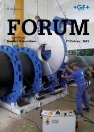 GF FORUM no. 17 - February 2015