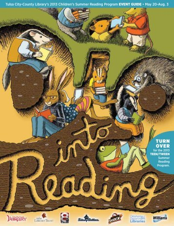 Summer Reading Program Event Guide - Tulsa City-County Library ...