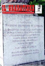n . 3 - luglio - settembre 2010 - Associazione Nazionale Granatieri di ...