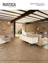RUSTICA - Architectural Collections