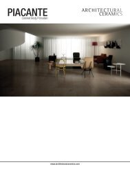 PIACANTE - Architectural Collections