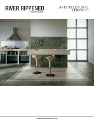 RIVER RIPPENED - Architectural Collections