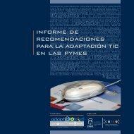 informe de recomendaciones para la adaptación tic en las pymes ...