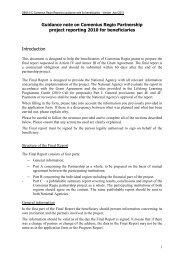 Guidance note on Comenius Regio Partnership project ... - LLP