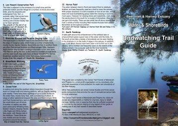 Birdwatching Trail Guide - Mandurah Visitor Centre