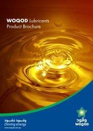 WOQOD Lubricants Product Brochure