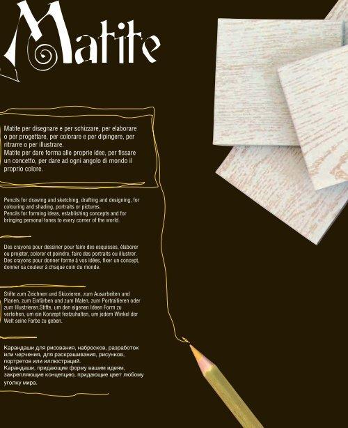MATITE CATALOGO - Gardeniasrl.com