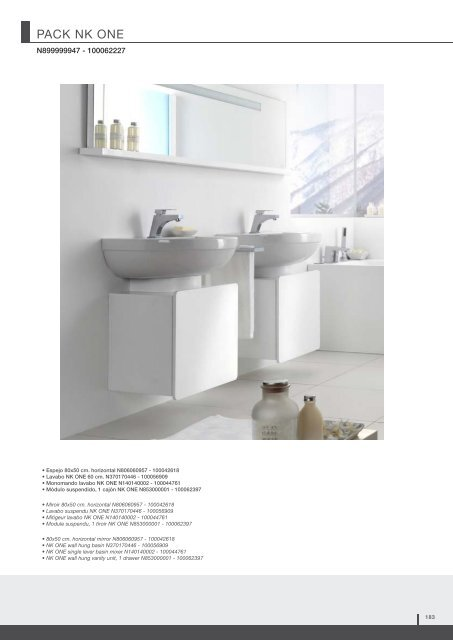 Lavabo Acro Compact.Pack Acro N899999944 10