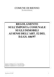 Regolamento sull'Imposta Comunale sugli Immobili - Comune di ...