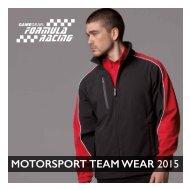 MOTORSPORT TEAM WEAR 2015