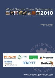 2010 - Wood Supply Chain Conference