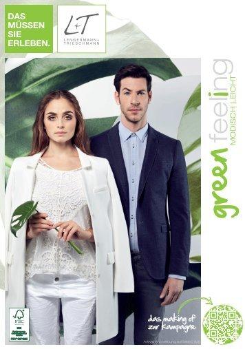 greenfeeling  .  die mode des Frühlings & sommers  .  L+T  .  Fashion-Prospekt FS2015