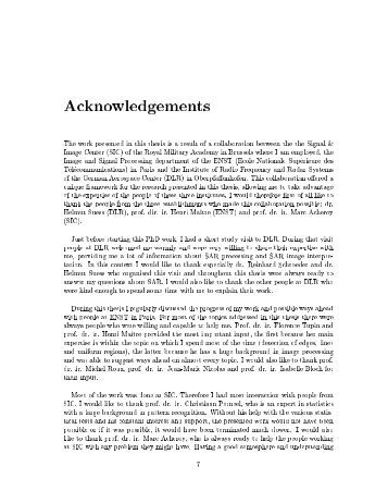 write acknowledgments thesis