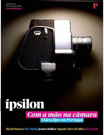 Com a mão na câmara - Fonoteca Municipal de Lisboa