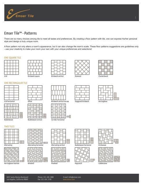 Emser Tile™ - Patterns