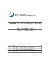 Relatório Anual OBT 2004 - Inpe