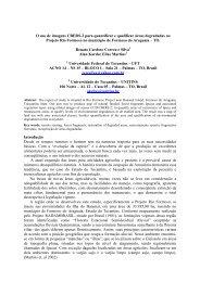 O uso de imagens CBERS-2 para quantificar - OBT - Inpe