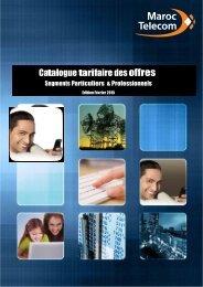 Catalogue Web des offres de Maroc Telecom -Edition février 2015