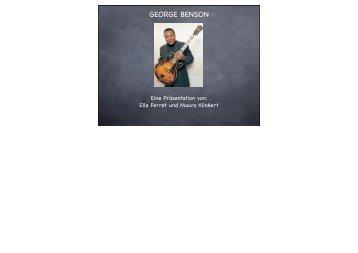 GEORGE BENSON - WBS-4u.de