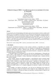 2 na análise do uso da terra no município de Severiano de - OBT